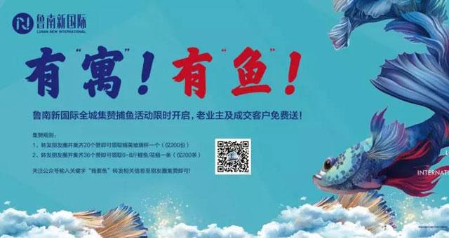 鲁南新国际 | 集赞有礼 成交有鱼