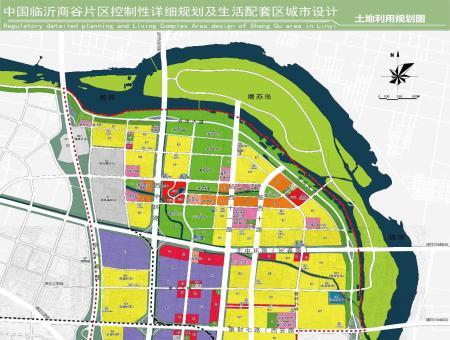 商谷片区规划图