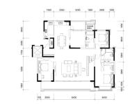 C2户型顶层复式 约260㎡ 5+1室两厅两卫一花园